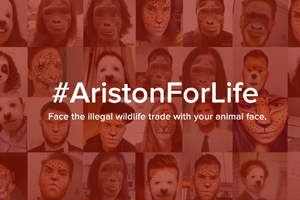 ARISTON JOINS THE #WILDFORLIFE CAMPAIGN