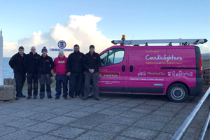 Ariston and Candlelighters set off on charity tour