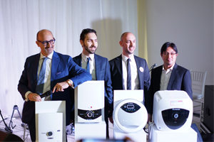 Ariston launched the new Aures instant water heater range in Indonesia