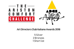 The Ariston Comfort Challenge awarded at ADCI 2018
