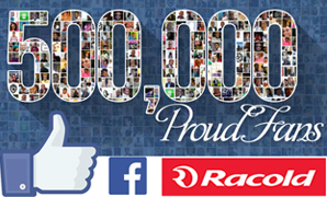 More than 500,000 fans on Facebook for Racold!