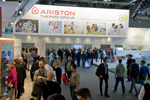Ariston Thermo at the 40th edition of MCE 2016