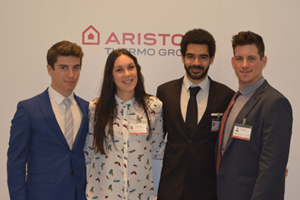 Ariston Thermo rewards university students with a day as managers